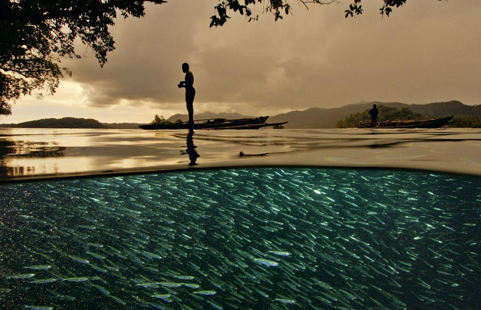 12. Рыбаки в Южной Африке.