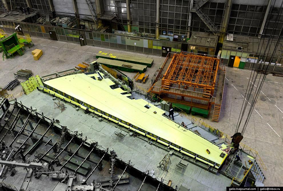 14. В 2014 году ВАСО получило крупный заказ на производство 14 широкофюзеляжных Ил-96 разных мо