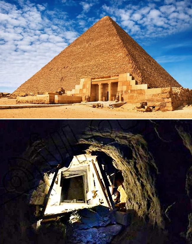 © nasul  © ancient-origins  Один изжителей египетской деревни Эль Харанейя, которая нах