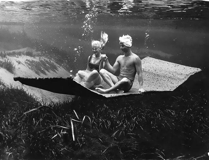Сложно поверить, но эти подводные фотографии были сняты в 1938 году (5 фото)