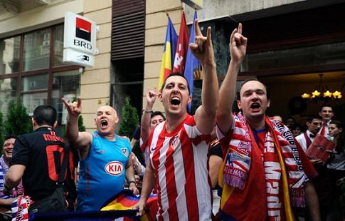 Фанат «Атлетико» будет судиться сУЕФА иарбитром, обслуживающим финал Лиги чемпионов