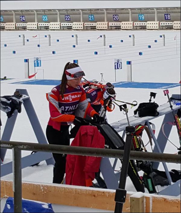 Дарья Домрачева заняла 37-е место впервой гонке после родов
