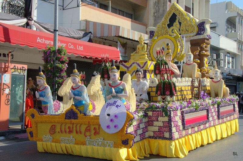 Фестиваль цветов, Чинг Рай.