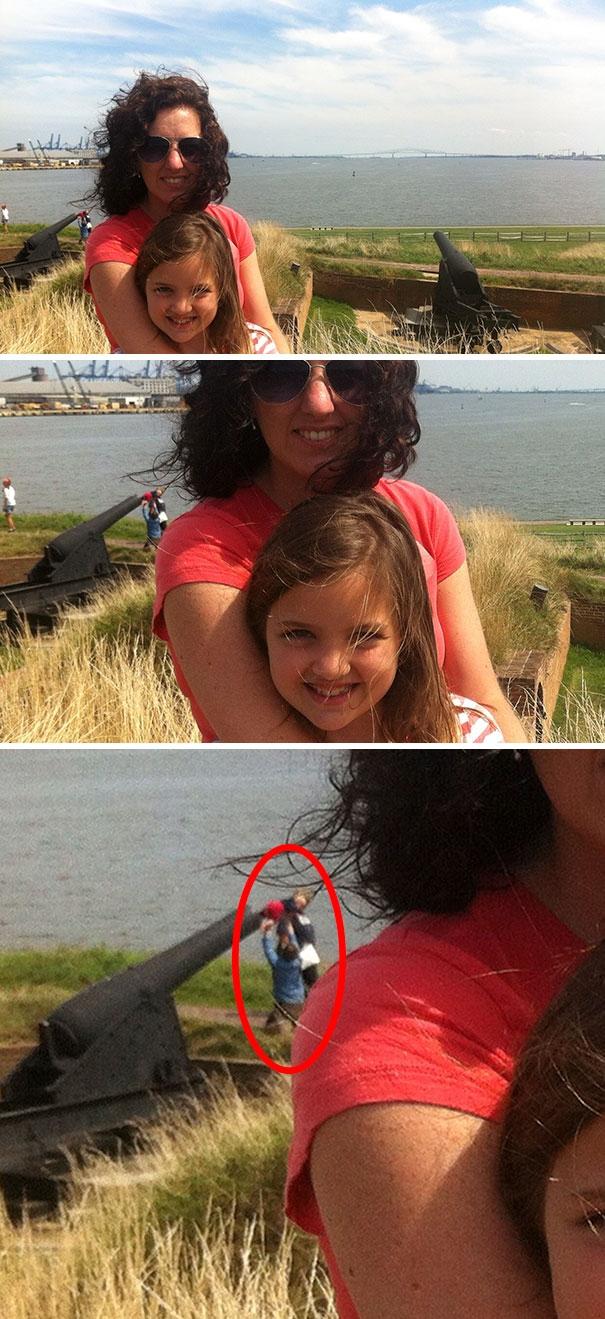 Интересно, зачем они засовывают ребёнка в дуло пушки?