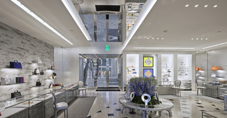 Miami Dior Boutique by Barbarito Bancel Architectes