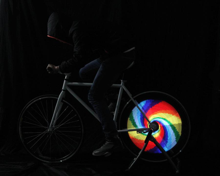 Customizable Led Bike Wheels (7 pics)