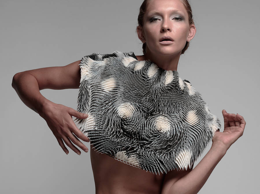 Interactive 3D Printed Wearable Clothes (6 pics)