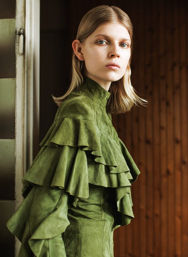 Ola Rudnicka Stuns from the Pages of ODDA Magazine Spaces Issue