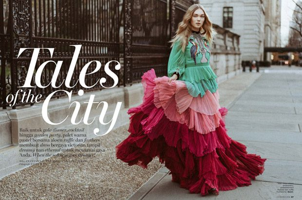 Puck Loomans in Tales of the City for Marie Claire Indonesia