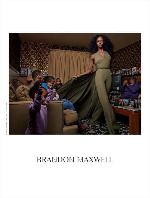 Riley Montana Models Brandon Maxwell Spring Summer 2017 Collection