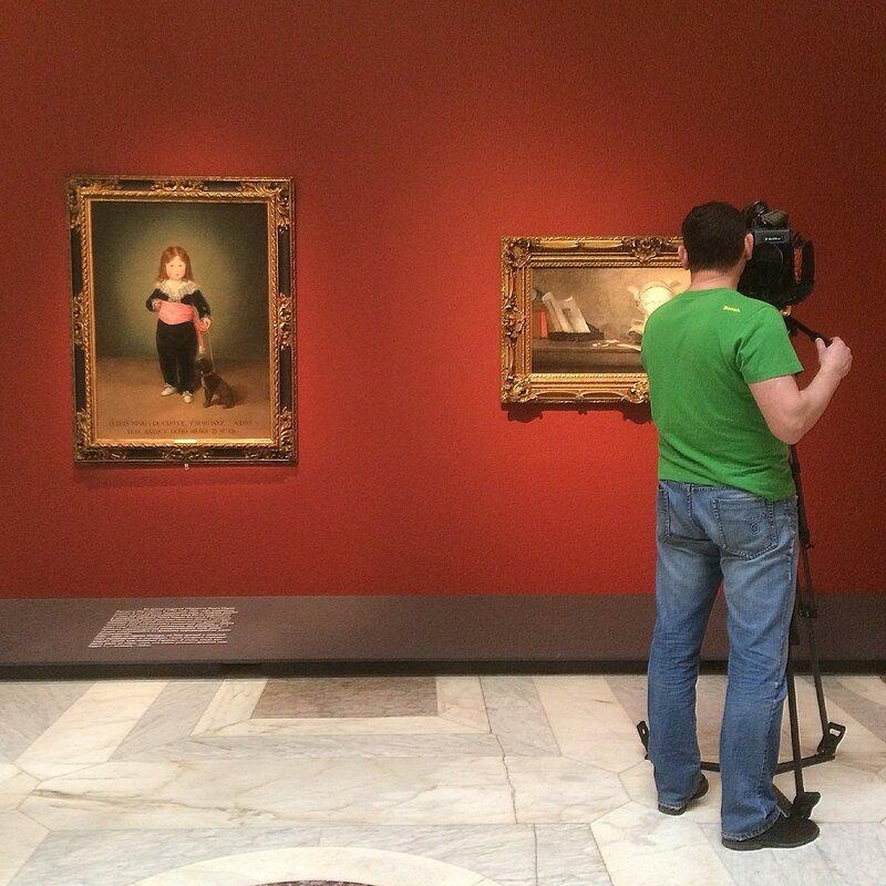 Выставка воображаемого музея Андре Мальро в ГМИИ