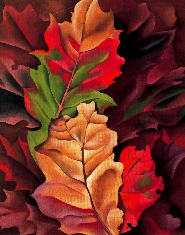 2 - 1924+-+Autumn+Leaves,+Lake+George,+N.+Y..jpg