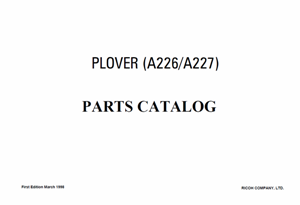 service - Инструкции (Service Manual, UM, PC) фирмы Ricoh - Страница 2 0_1b1df9_7bef33ed_orig