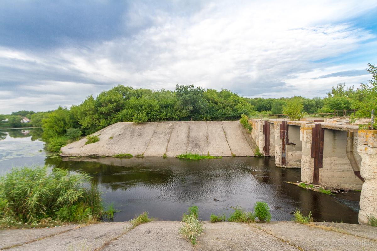 Калининск река Баланда плотина фото 5