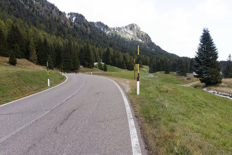 перевал san pellegrino, альпы, италия