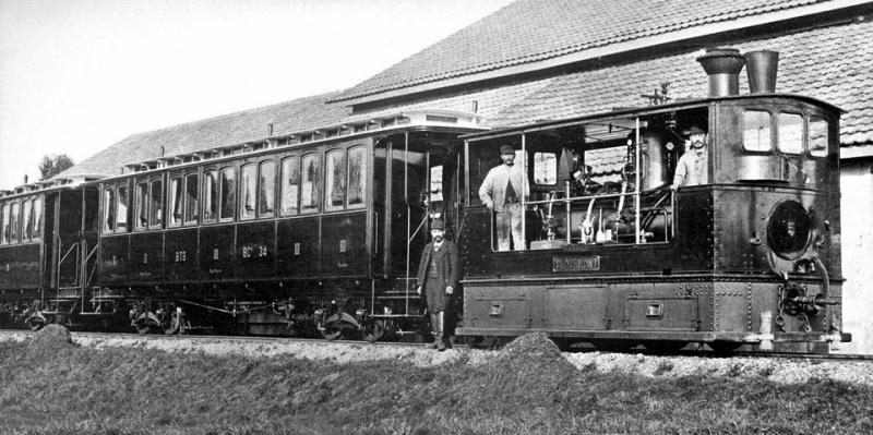Английский паровой трамвай системы Грина образца 1887 год года.jpg