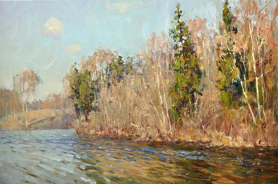 Апрель на реке Мсте. 2015.jpg