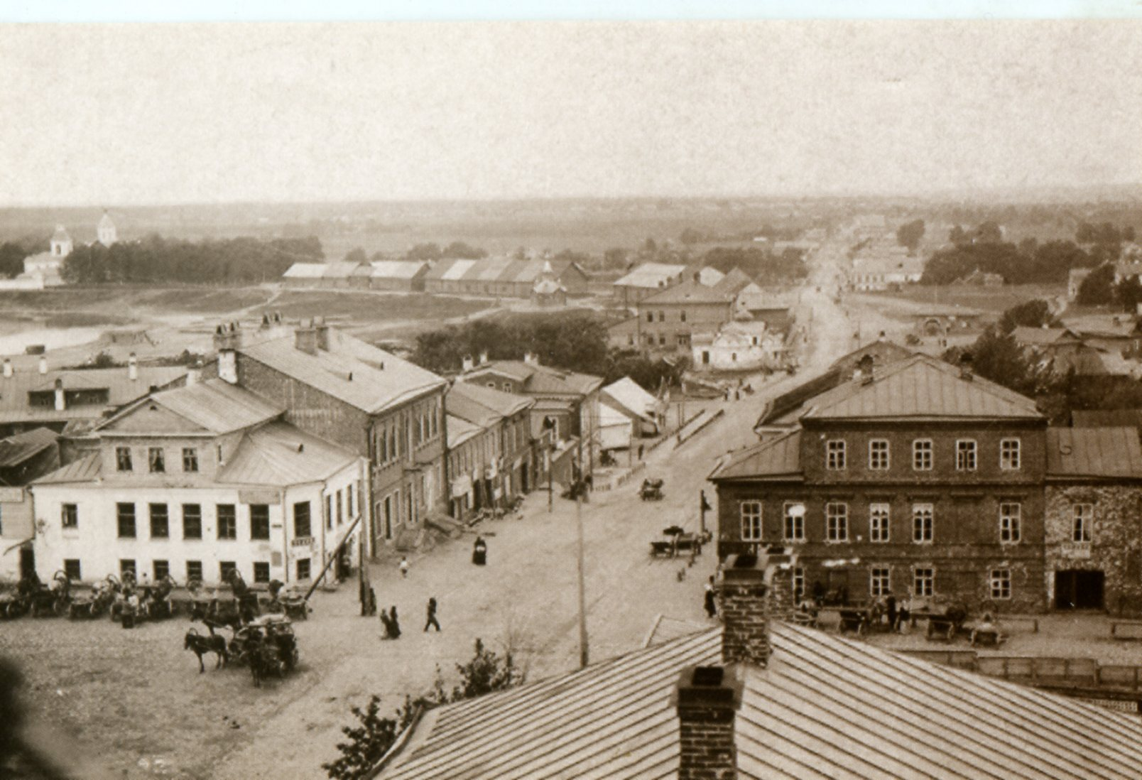 Перекрёсток Екатерининской и Никитской улиц