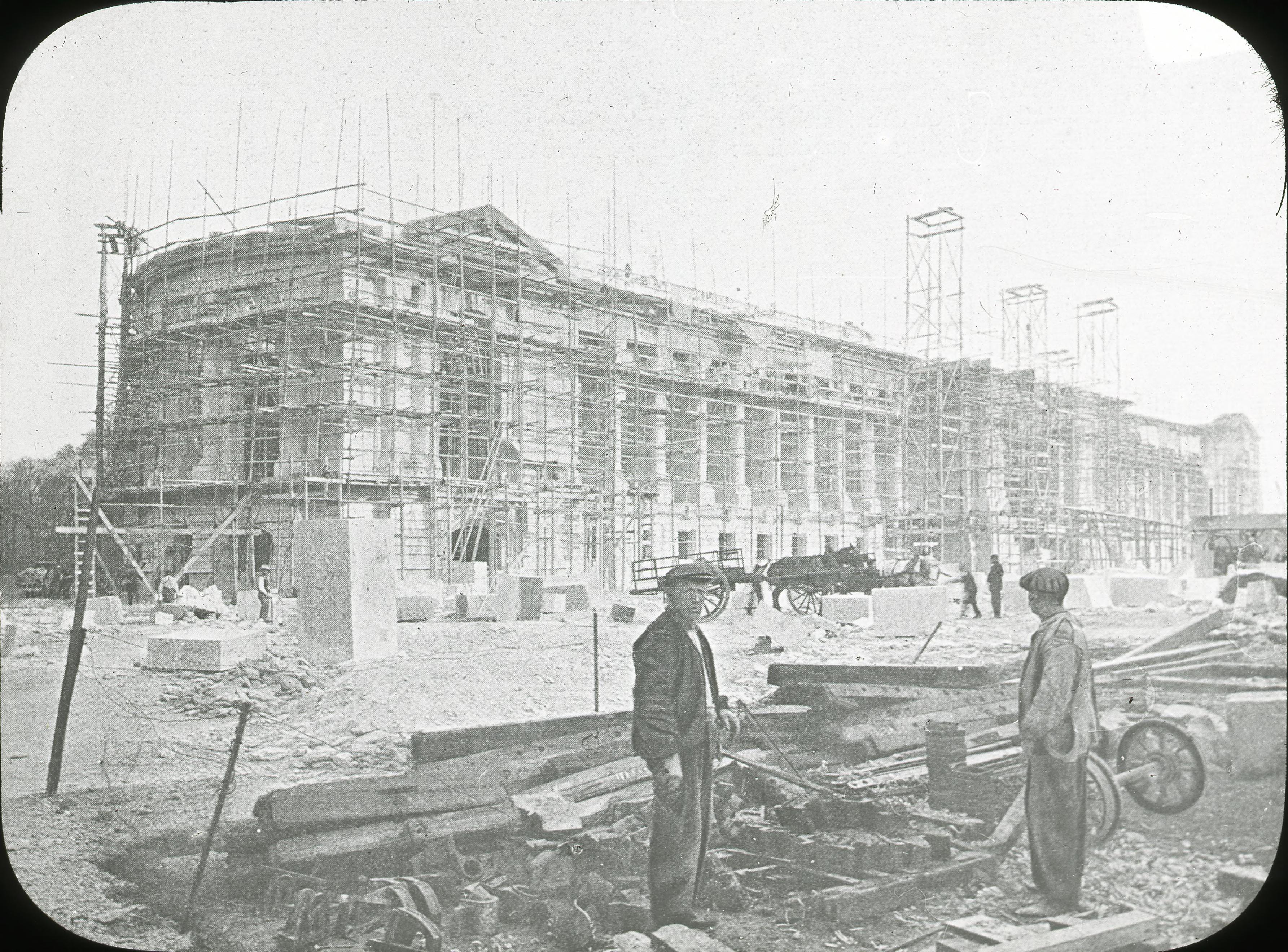 Строительство Малого дворца