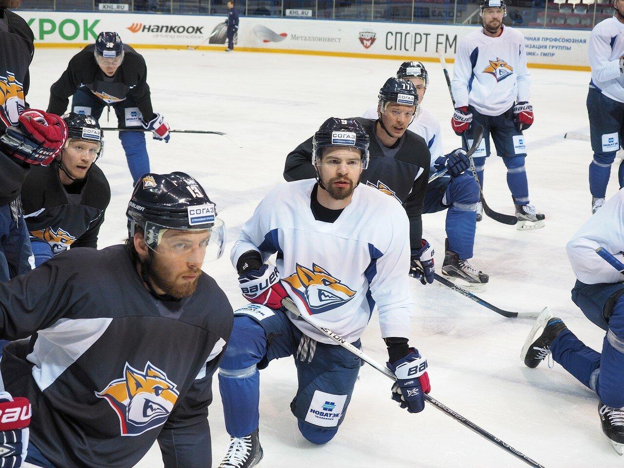 35 Открытая тренировка перед финалом плей-офф восточной конференции КХЛ 2017 22.03.2017