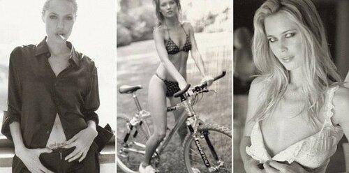 Книга с неизвестными снимками Джоли, Мосс и Деппа вышла в свет