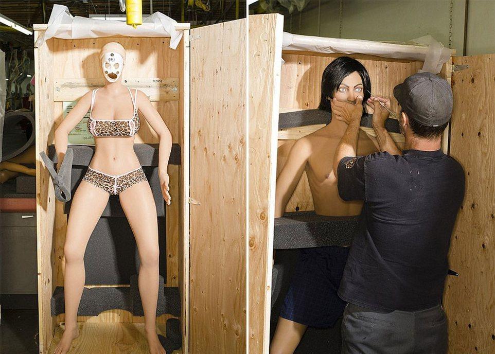 Цех по производству секс-кукол за 12 000 долларов