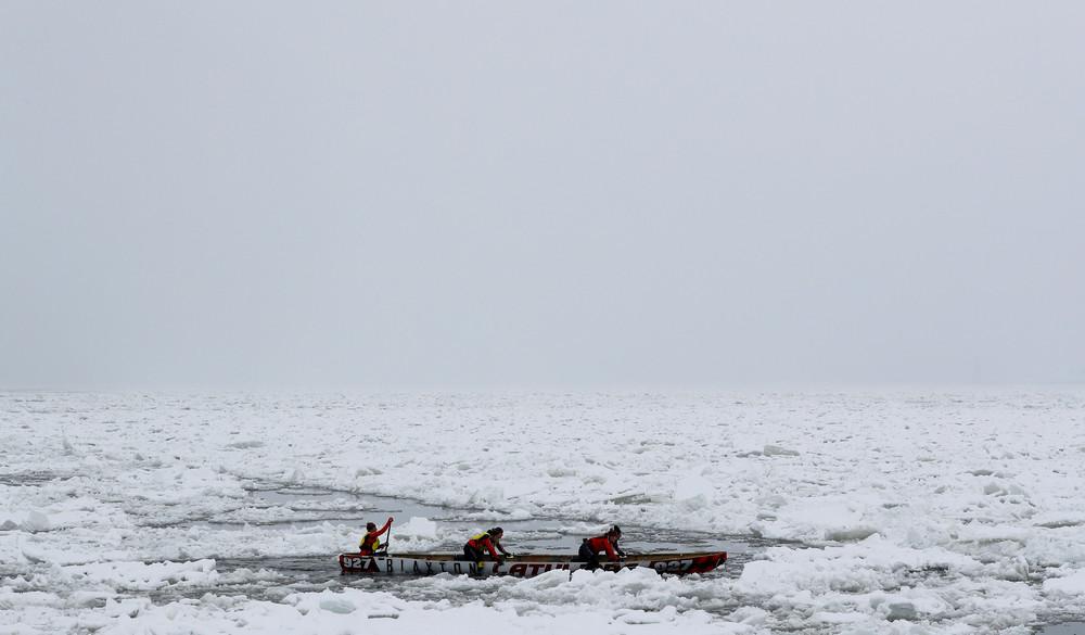Гонки на каноэ в Квебеке
