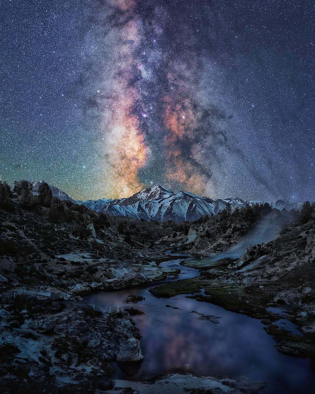 Захватывающий пейзажи Криса Юэна Кросби