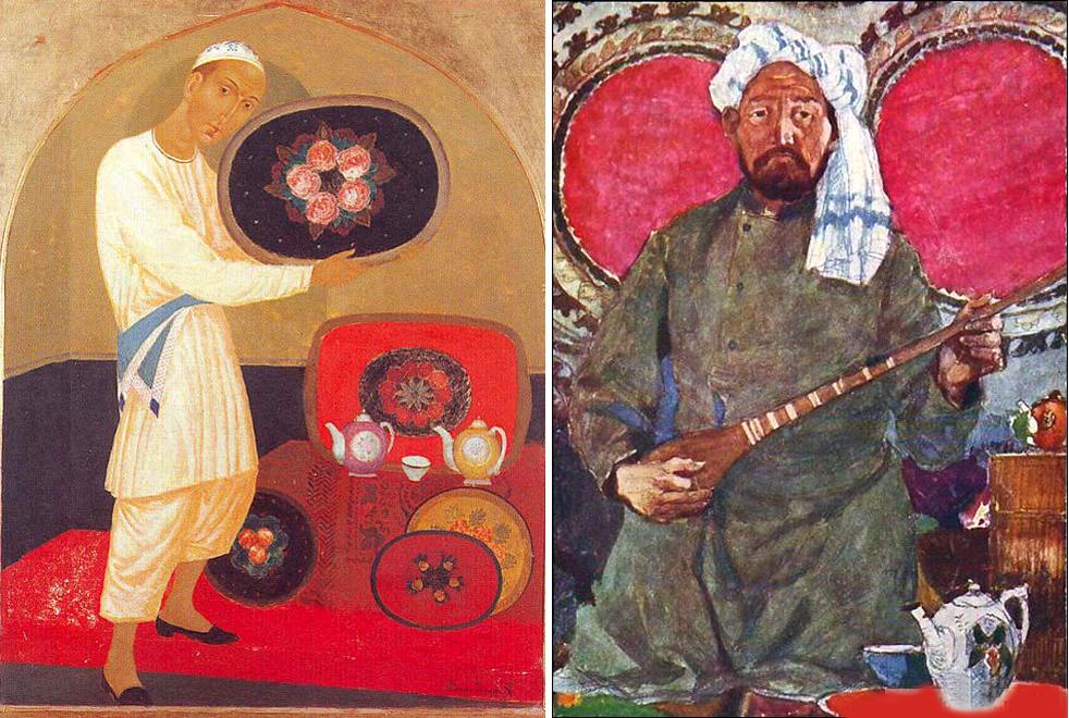 ПРодавц фарфора Ташкент. Восточный музыкант.png