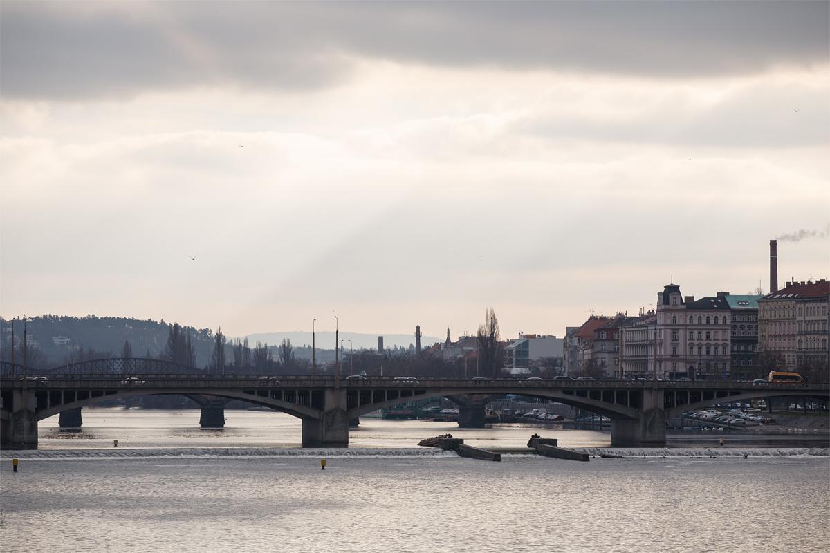 фото, фотографии, Прага, зима, ночь