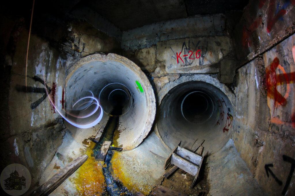 Сплав по подземельям Ижевска, коллектор N-26