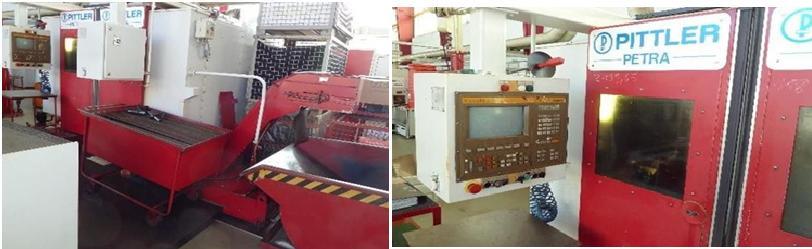 Токарный автомат с программным  управлением фирмы PITTLER.
