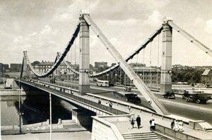Москва. Крымский мост. Фото И. Грановского. Фотостудия Изогиза, Москва, 1957, 10 тыс.jpg