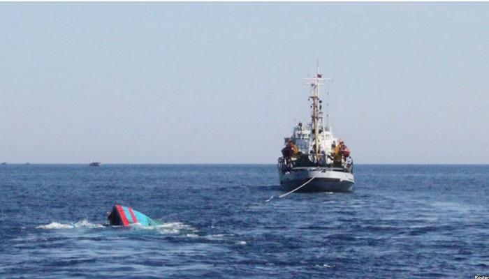 Неподалеку от  Японии затонул сухогруз под флагом КНДР