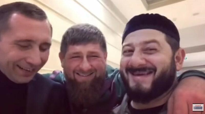 Кадыров - Галустян - Грачёв - скрин видео