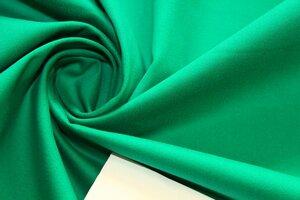 ММ075 650руб-м Хлопок-сатин стрейч(хлопок 97%,эл 3%).Мягкий,эластичный,непрозрачный, с бархатистой поверхностью.Цвет светло-изумрудный.Для пошива платьев,юбок,жакетов,легких пальто и тд.Шир.1,49м (7).JPG