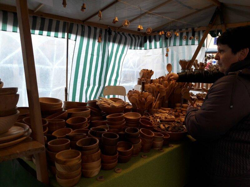 О жизни: Ярмарка ремесел в Гавливочком Броде, Чехия
