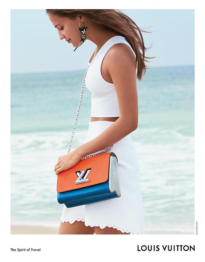Алисия Викандер в рекламной кампании Louis Vuitton