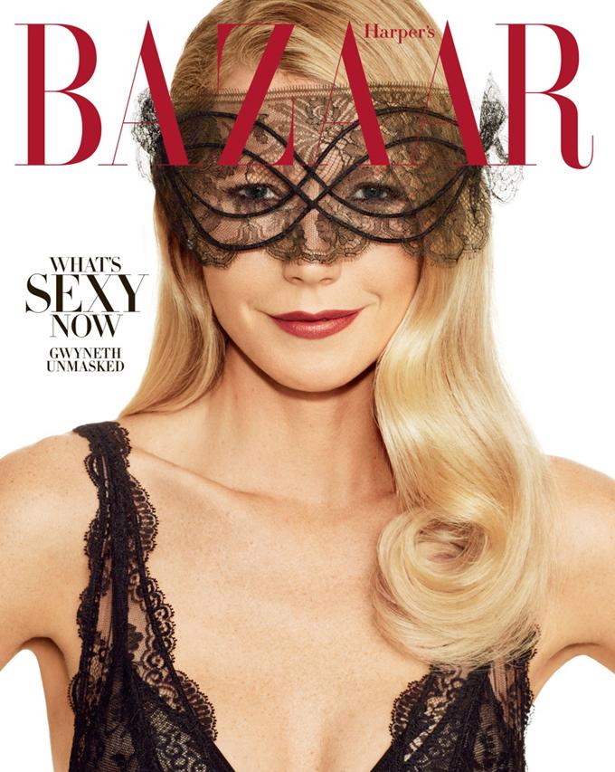 Гвинет Пэлтроу на обложке Harper's Bazaar