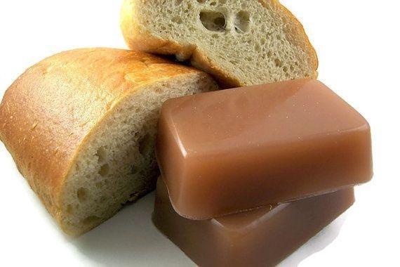 6. Мыло с запахом хлеба