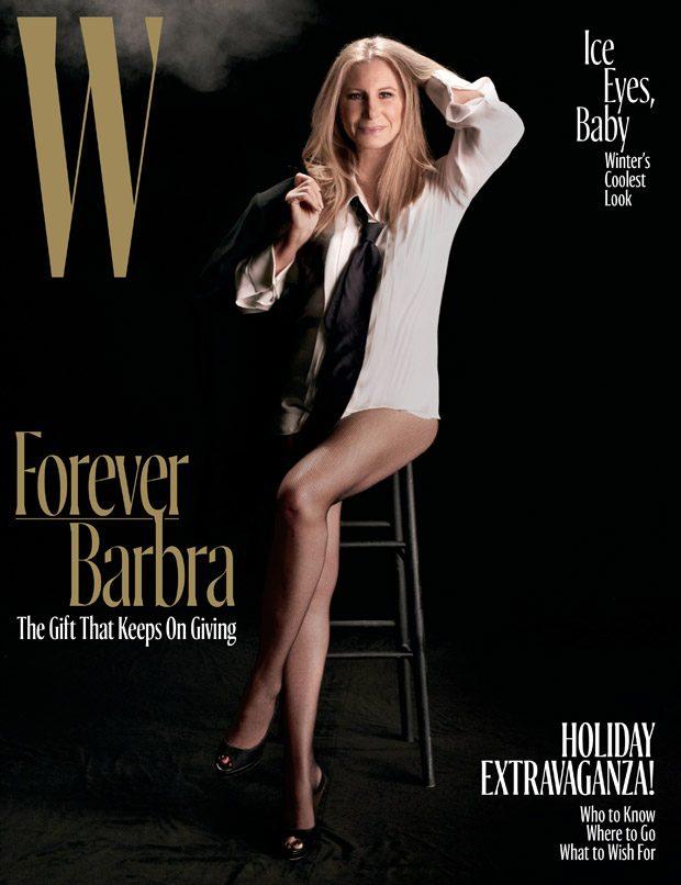Барбра Стрейзанд в W Magazine