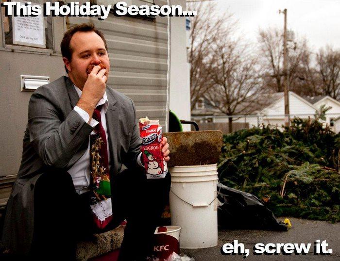 2011: «В эти праздники… фу, пошло оно все».