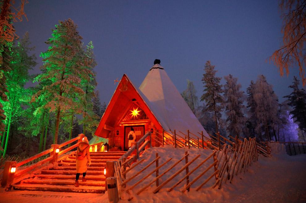 14. Главный офис и резиденция Санта Клауса, 15 декабря 2016. Кстати, в Финляндии его называют Й