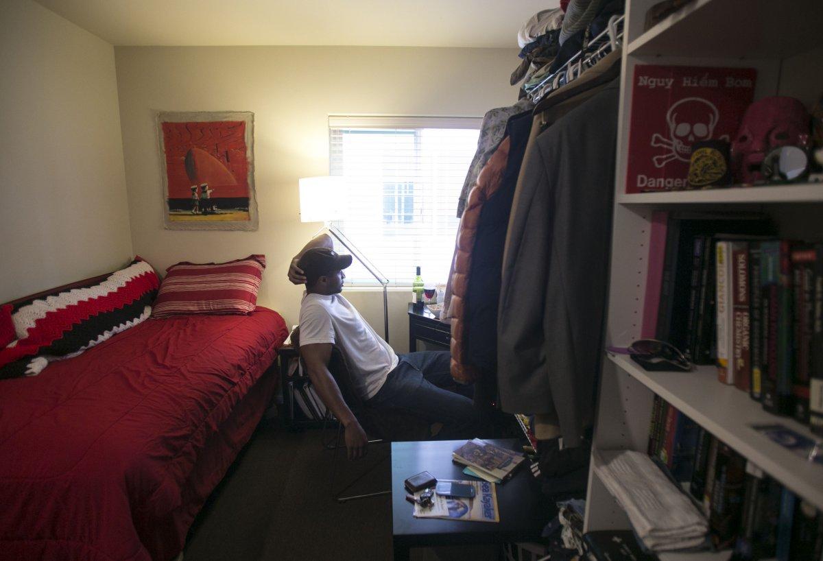 Для сравнения: Джон-Кристиан Стаблфильд живет в «просторной» студии площадью 18 квадратных метров в
