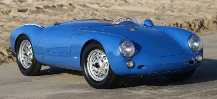 Porsche 550 RS Spyder 1956 года продан за рекордные 6 миллионов долларов