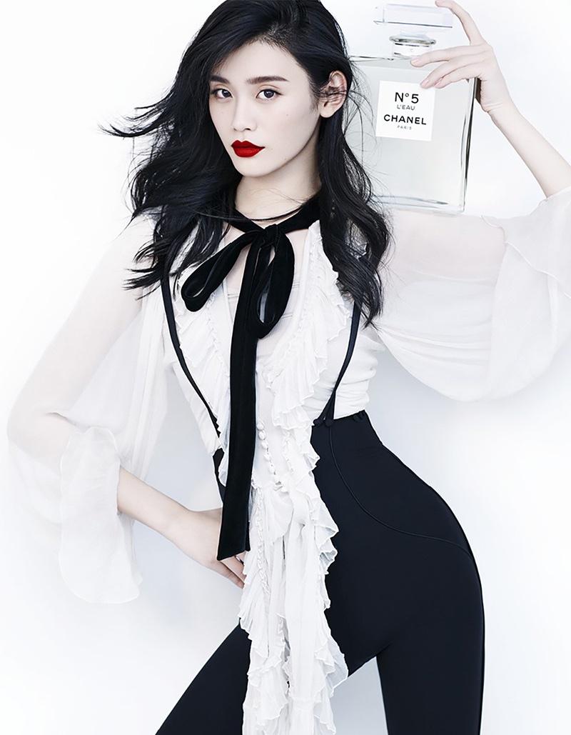 Минг Кси для китайского Harper's Bazaar