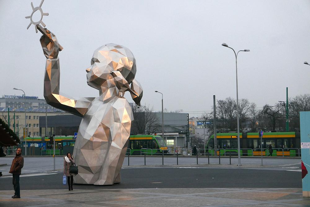 Уличные геометрические скульптуры David Mesguich