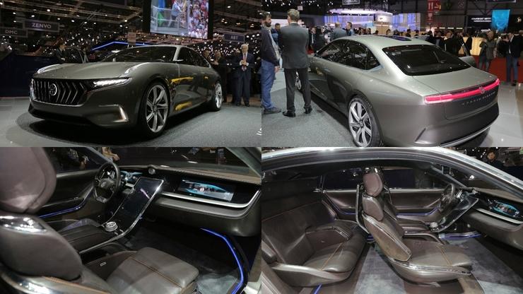 На автосалоне в Женеве зрителям показали автомобиль Hybrid Kinetic H600, который активно стремиться