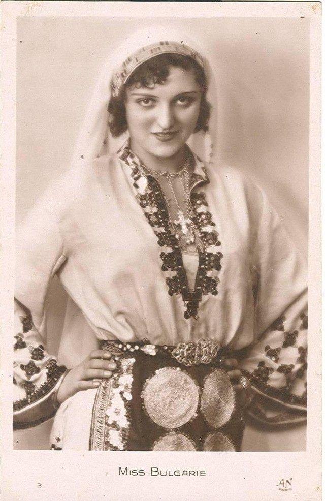 Мисс Чехословакия Милада Досталова.