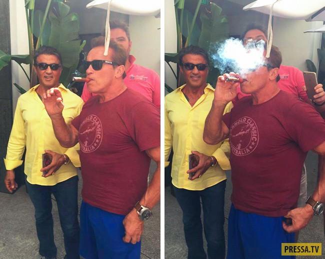 «Старик с сигарой испортил мое фото со знаменитостью».